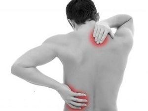 Болевые точки при миозите мышц спины